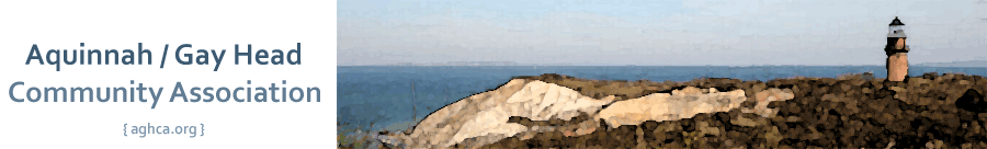 Aquinnah/Gay Head Community Association