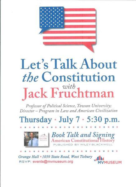 Jack Fruchtman talk